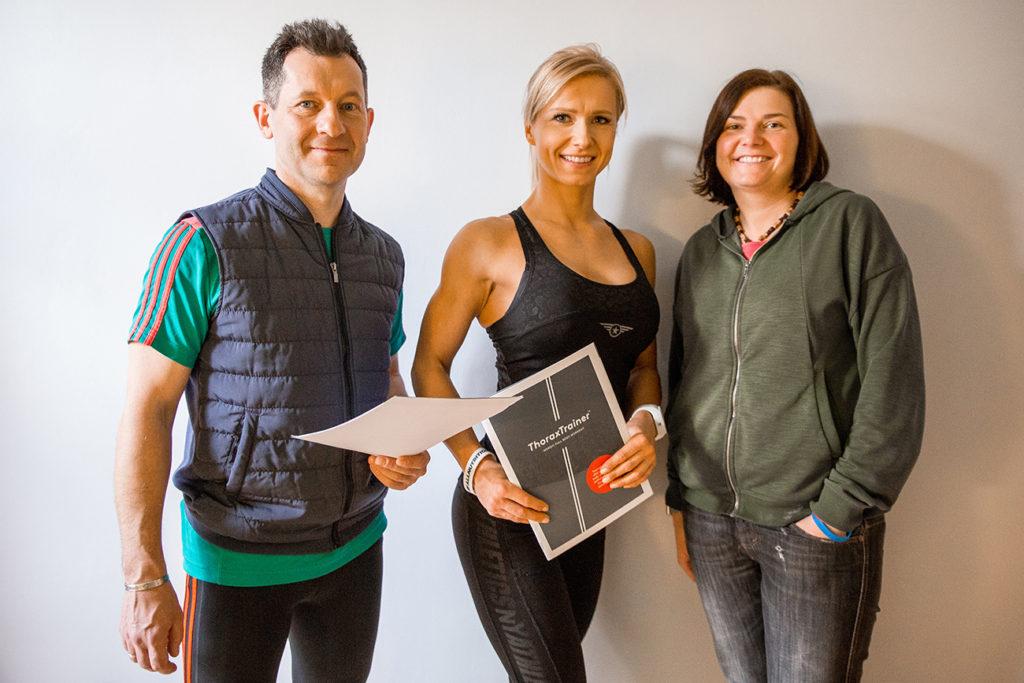 Mistrzyni Fitness Małgorzata Otto wspiera Endurance Sports
